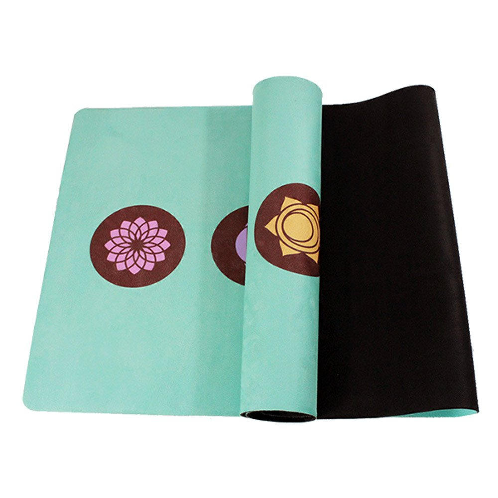 Techecho Yoga Matte Wildleder 0,5mm Umweltfreundliche Köstliche Fitness Matte Yoga-Matte Für Gym Familie.