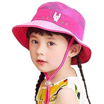2751cac61eadd DORRISO 子供ハット つば広 赤ちゃんキャップ サファリハット キッズ 帽子 子供サンバイザー フィッシャーマンハット