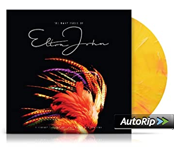 The Many Faces Of Elton John (Gatefold, Vin. Azul y Amarillo) 2Lp [Vinilo]