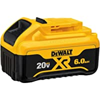 2-Pack DEWALT 20V MAX Premium 6.0Ah Double Battery Pack (DCB206-2)