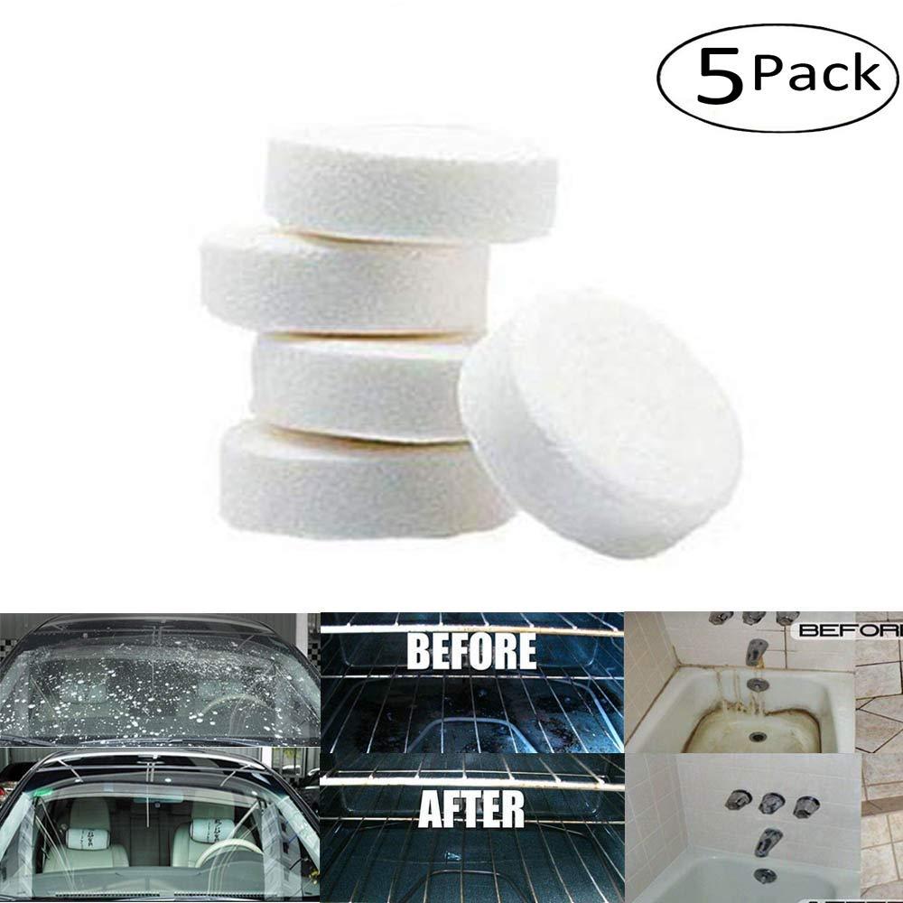 FORNORM Rondella del parabrezza per auto, detergente spray multifunzionale (Pack of 5X)