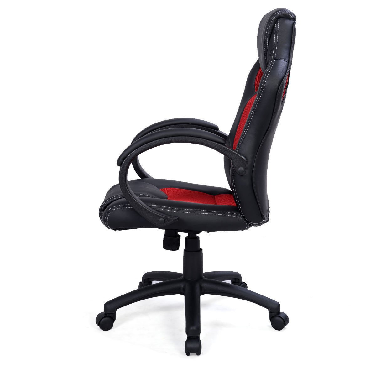 with remarkable black desk chairs armrests back wheels genuine executive high and adjustable tufted button design chair computer swivel office leather