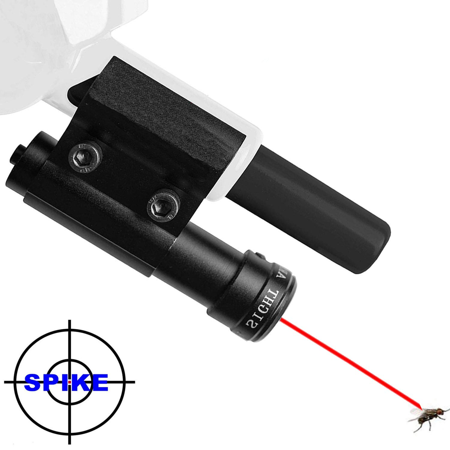 ADAFA.Z Laser Sight Beam for Bug & A Salt Shotgun Version 2.0, Fit All Fly Killer Aiming Scope, Lawn & Garden Insect Eradication Airsoft BB Pump Add-On Accessories