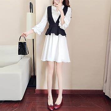 Conjuntos de Moda de Las Mujeres Vestidos de Moda Faldas de Los Vestidos de Dos Piezas