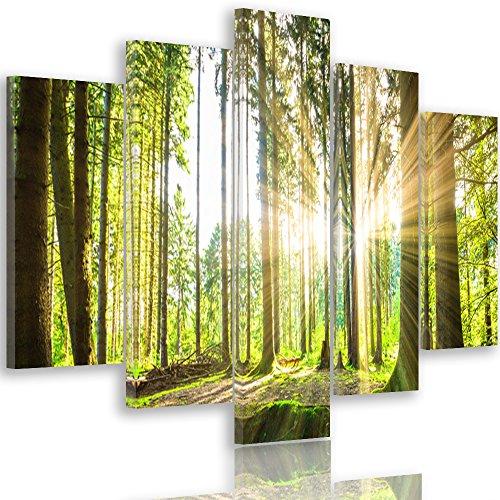 Très Feeby Frames, Tableau multi panneau 5 parties - Grand Format  GN49