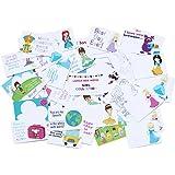 Sprinkled Joy 50 Designer Lunchbox Notes Girl Theme
