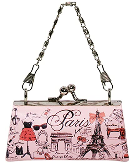 Paris Glam W06 Couture - Monedero, Color Rosa: Amazon.es ...