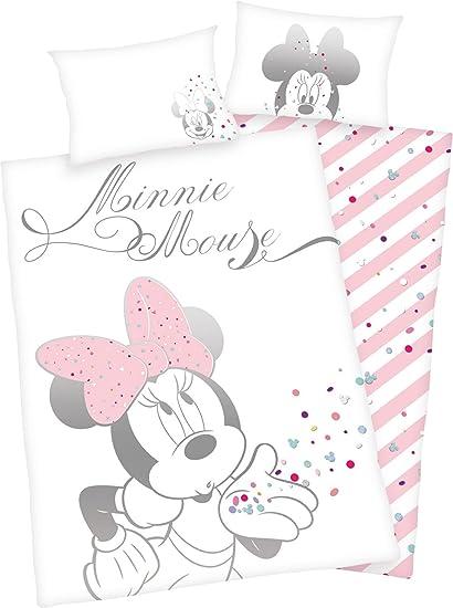 Herding Disney Minnie Mouse Kleinkinder Bettwäsche Set Baumwolle