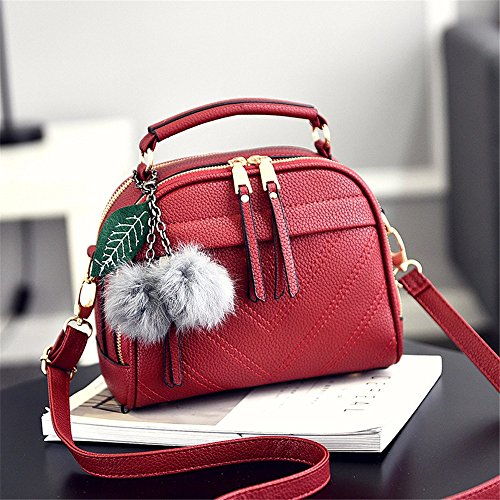 Fashion New Bag Shoulder Borsa Holiday Single MSZYZ Gifts rosso Nero Borsa qApgf