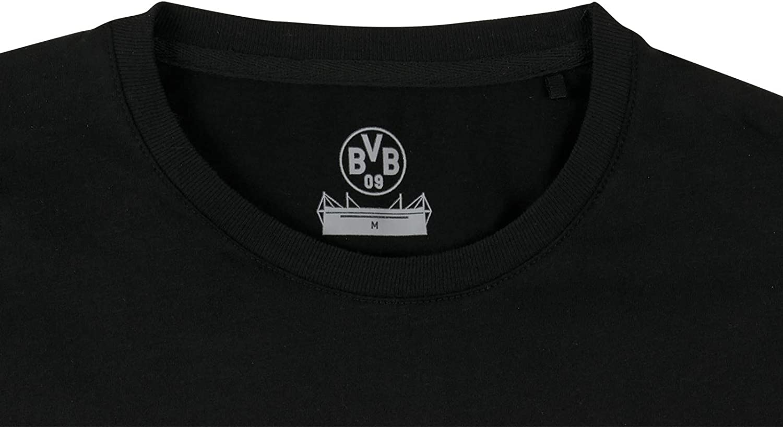 Borussia Dortmund Herren Bvb-borussia09-basic-t-shirt T-Shirt