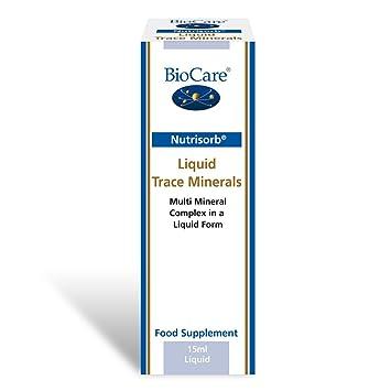 biocare nutrisorb liquid trace minerals 15ml amazon co uk health