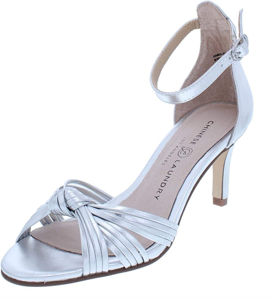 Chinese Laundry Womens Robbie Open Toe Casual Ankle Strap Sandals