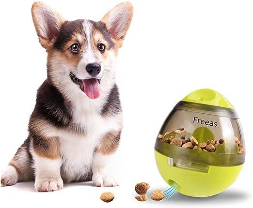 Freeas Pelotas para Perros Juguetes para Perros, Pet Food Ball ...