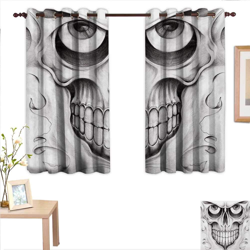 Amazon Com Martindecor Day Of The Dead Drapes For Living Room