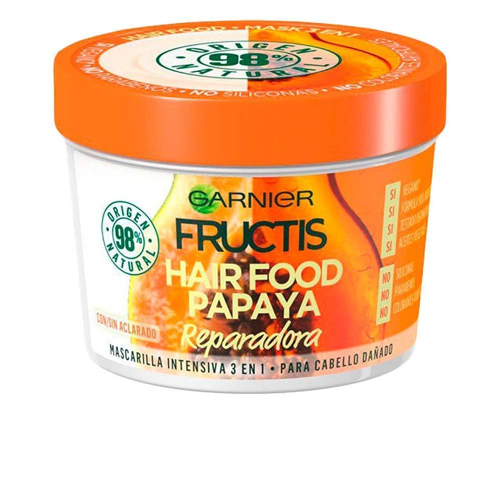Garnier Fructis Hair Food Papaya Repair Mask for Damaged Hair - 390 ml