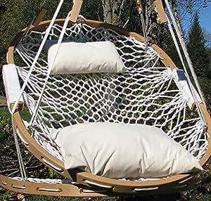 Amazon Com Cobble Mountain Bent Oak Chair With Stowaway