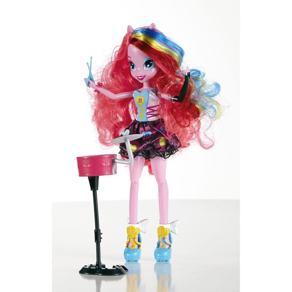 Amazon.com: My Little Pony Equestria Girls Singing Pinkie Pie Doll