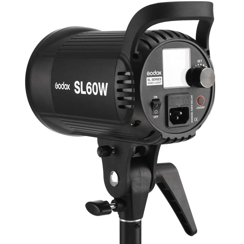 Godox SL60W SL-60W 5600K Daylight Studio Continuous LED Video Light Lamp w/Bowens Mount by Godox (Image #5)
