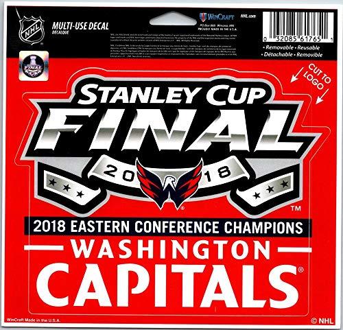 (Washington Capitals 2018 Eastern Champ's Multi-Use Decal Sticker 5