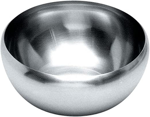 Silver Alessi 205//29 Decorative Salad Bowl
