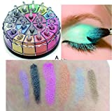 UCANBE Seven Girl 20Colors Shimmer Glitter Eyeshadow Palette Cosmetic Matte Eye Shadow Powder