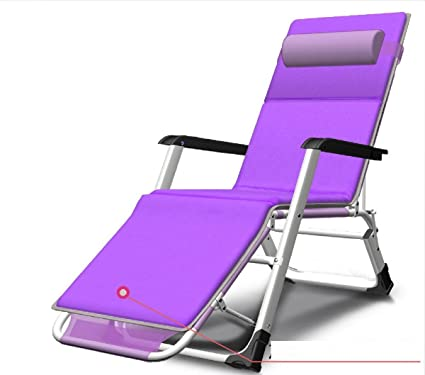 c7644c88bd Amazon.com : ZLJTYN Lounge Chairs, DECK Chairs, Folding Zero Gravity ...