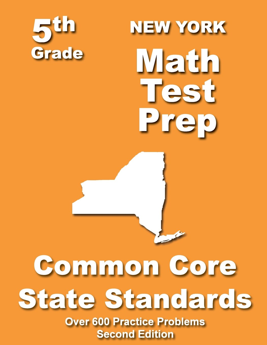 New York 5th Grade Math Test Prep Common Core Learning Standards Paperback July 12 2013