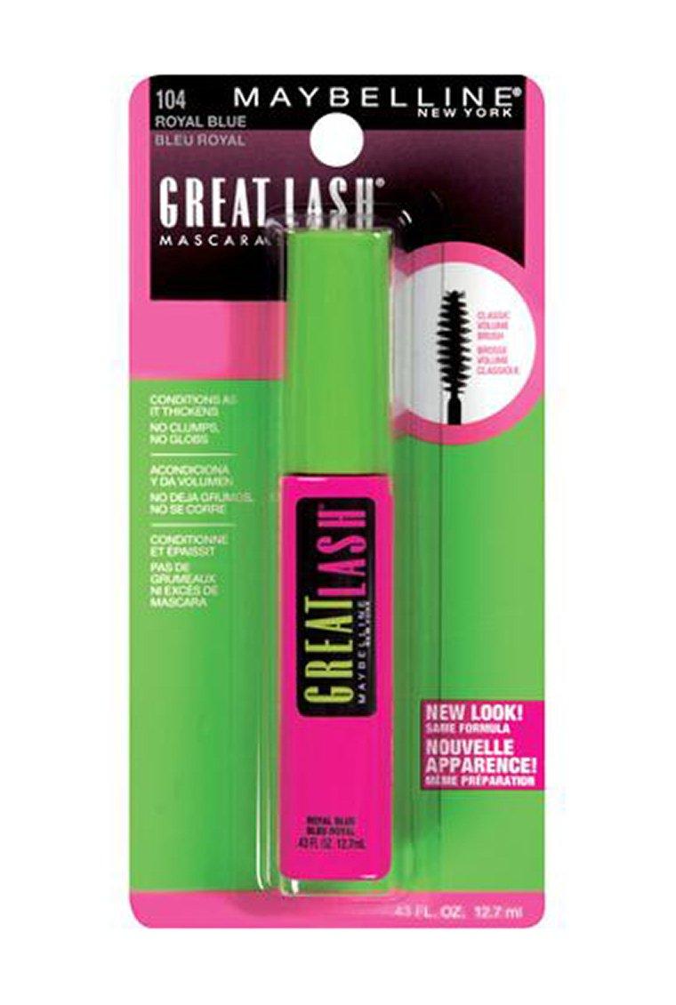67efb3e9626 Amazon.com: Maybelline Great Lash Washable Mascara, Royal Blue, 1 Tube:  Beauty