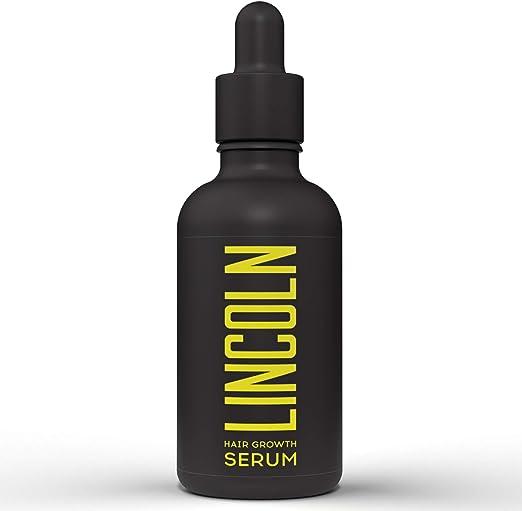 LINCOLN Serum Anticaída Pelo con Biotina para Hombres - Serum Crecimiento Cabello y Caída de Pelo - Enriquecido con Vitaminas Capilares - Tratamiento ...