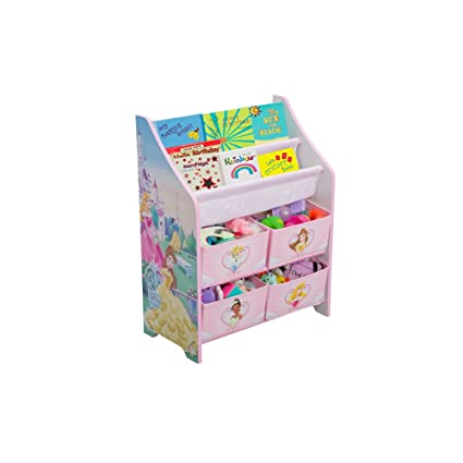 Amazon Com Disney Princess Book And Toy Organizer Discontinued By
