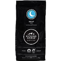 Kicking Horse Coffee, Decaf, Swiss Water Process, Dark Roast, Whole Bean, 10 oz - Certified Organic, Fairtrade, Kosher Coffee
