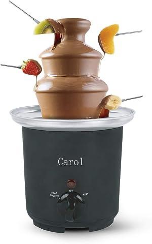 Carol Melting Chocolate Fountain,Chocolate Fountain For Kids, Triple Self-Heating