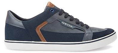 Geox Halver Herren Sneakers Low Top Blau Größe 40: