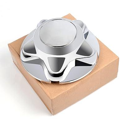 "G-PLUS 1PCS Wheel Center Hub Caps Rim Covers Replacement 5 Lug Nut Hubcap for 1997-2003 Ford F150 Expedition Chrome 7"": Automotive"