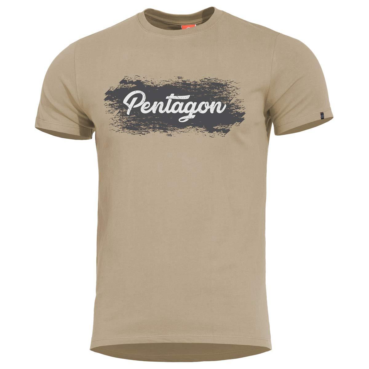 Pentagon Uomo Ageron T-Shirt Pentagon Vertical Nero