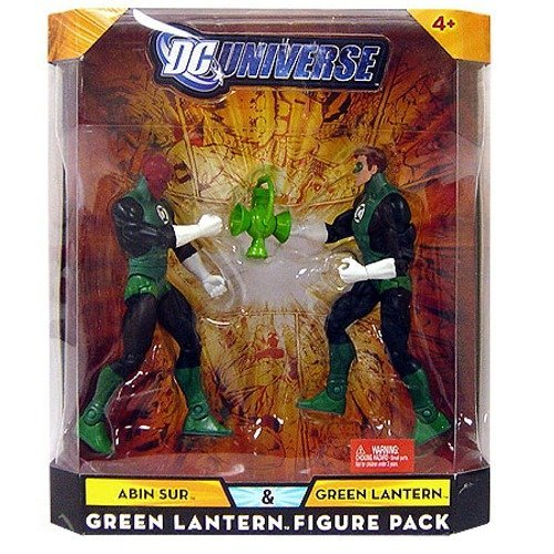 (DC Universe Infinite Heroes Collector Abin Sur / Green Lantern Figures 2-Pack)