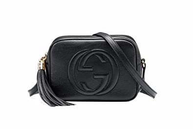 f77b95d1da8c Image Unavailable. Image not available for. Color: GUCCI Black Soho Leather  Disco Bag 308364 w/ Dust Bag