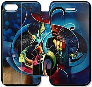 iphone 5 5s Flip Leather Phone Case abstract Painting TY1OR3231773