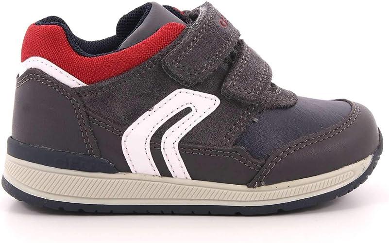 Geox B Rishon A, Sneakers Basses bébé garçon