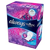 always regular panty liners - Always Always Radiant Liners, 48 Count