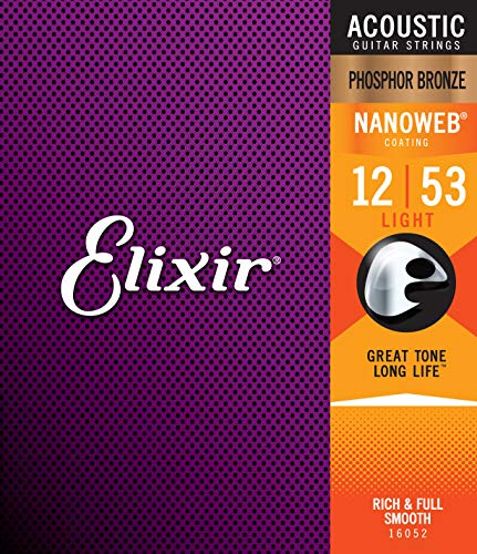 Elixir Strings Phosphor Bronze Acoustic Guitar Strings review