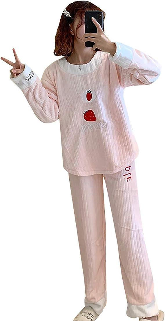 Conjunto Pijama Mujer Invierno Franela Dos Piezas, Pijamas ...