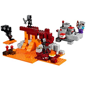 Amazon.com: LEGO Minecraft The Wither 21126: Toys & Games