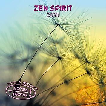 Achat Calendrier 2020.Calendrier 2020 Zen Serenite Tranquilite Avec Maxi