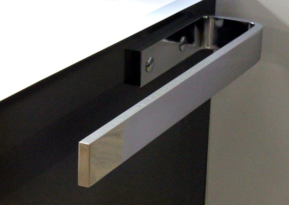 Pelipal HH4– 320 Porte-Serviette en Chrome, Corps Montage, Salle de Bains Design, Profondeur: 32 cm Profondeur : 32cm