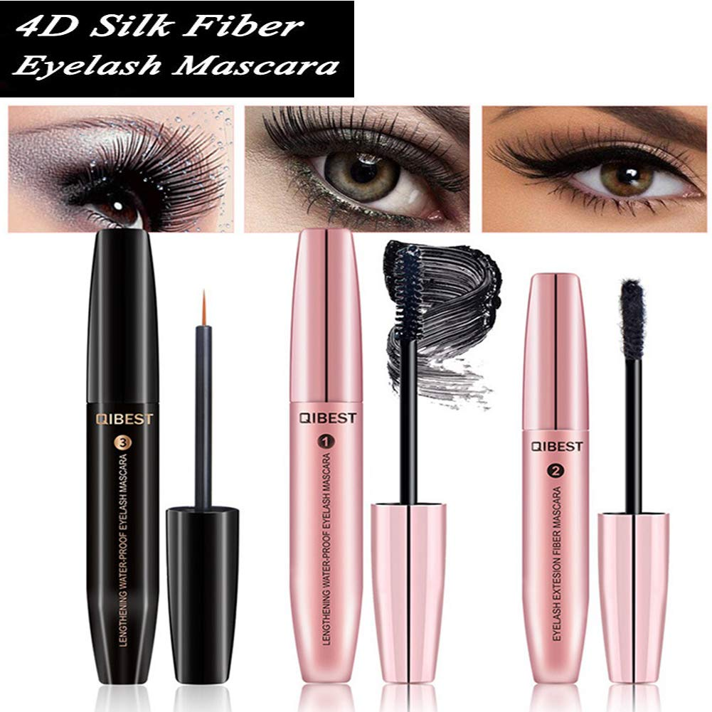 Amazon 4d Fiber Lash Mascara With Eyelash Enhancing Serum