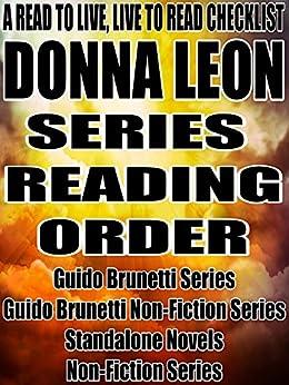 Amazon.com: donna leon brunetti in order: Books