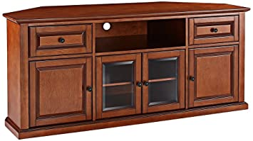 High Quality Crosley Furniture 60 Inch Corner TV Stand   Classic Cherry