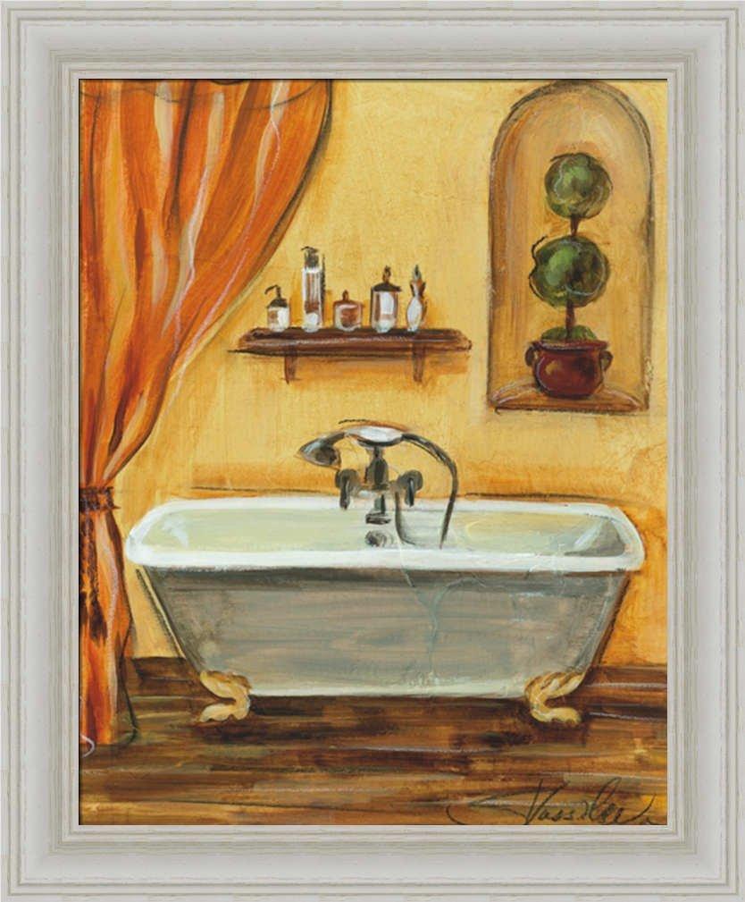Amazon.com: Tuscan Bath I by Silvia Vassileva Contemporary Bath Wall ...