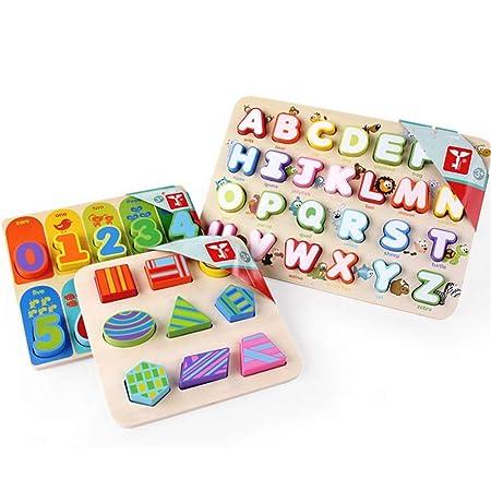 Cvbndfe Tarjetas de Alfabeto para niños, Letras del Alfabeto ...
